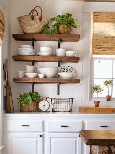 kitchen shelves designs 50 gorgeous modern cottage kitchen ideas decomagz 2537