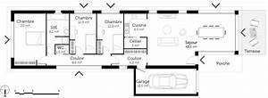 plan maison sur terrain en longueur ooreka With plan maison en longueur