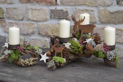 Weihnachtsgestecke Aus Holz by 1416862422 580 Holidaze Deko Weihnachten Diy
