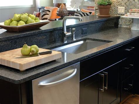 small black kitchen sink choosing the right kitchen sink and faucet hgtv 5355