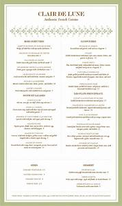 The gallery for --> Fancy Restaurant Menu Template
