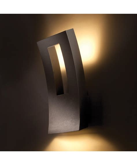 modern led outdoor wall sconce lighting ideas modern