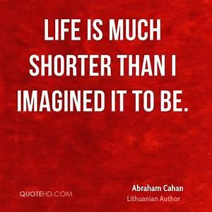 Abraham Cahan L... Lithuanian Love Quotes