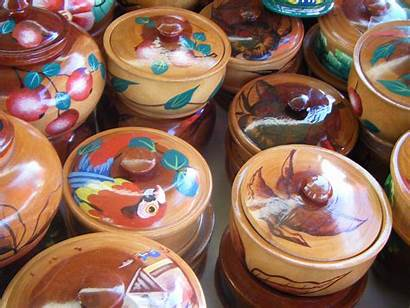Handmade Crafts Wooden Bowls Haiti Items Globebids