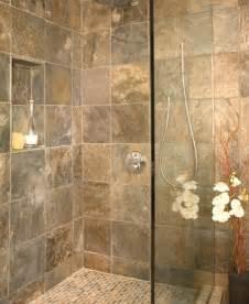 Small Bathroom Shower Slate
