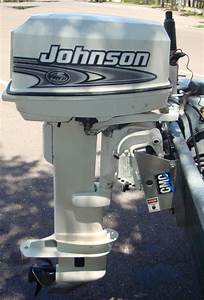 Used 1999 Johnson 25hp Long Shaft Outboard For Sale