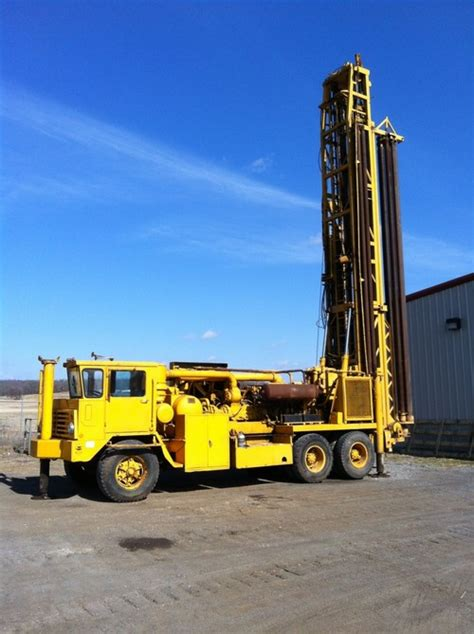 1972 ingersoll rand t4w drill rig venture drilling supply