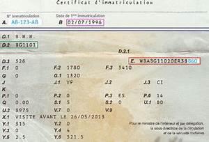 Carte Grise Numero Vin : num ro de ch ssis sur nouvelle carte grise ~ Medecine-chirurgie-esthetiques.com Avis de Voitures