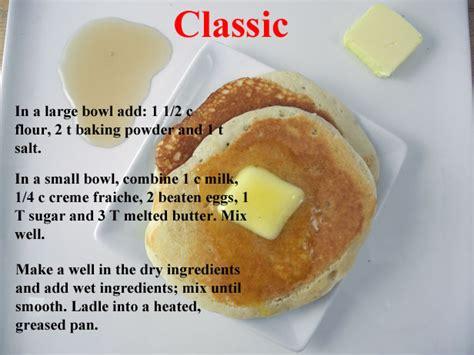 pancake recipe reinvented pancake recipes 5 ways fn dish food network blog