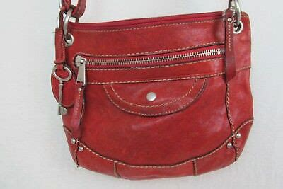 fossil long  vintage  purse hand bag