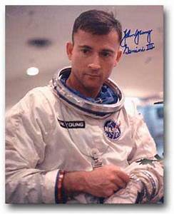 John Young Astronaut Autograph (page 3) - Pics about space