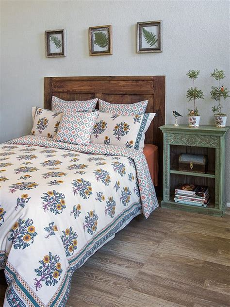 Country Duvet Covers by Country Duvet Cover Yellow Floral Saffron Marigold