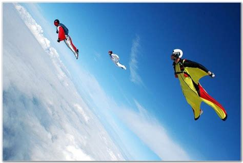 flying wingsuit spain skydive seville suit sky wing sports andalusia fly xtremespots human body air through sport using