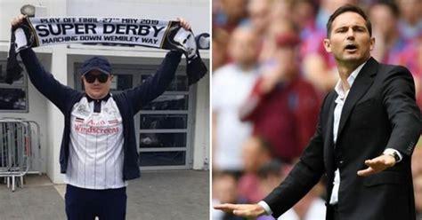 Derby County fan gets Frank Lampard tattoo - as boss nears ...