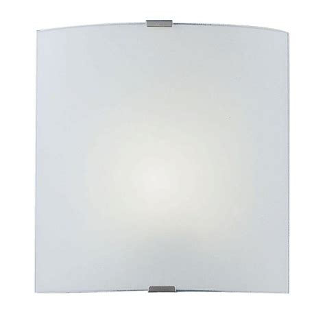 eglo grafik 1 light chrome and satin wall ceiling surface