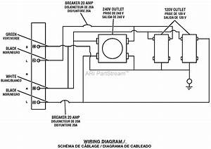 Homelite Ut905000p 5000 Watt Generator Parts Diagram For