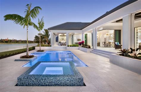 Lake-view Home In Naples, Florida Has Smart Home System