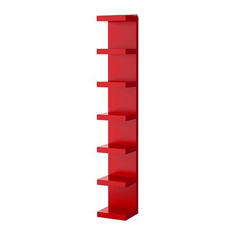 ikea lack bookshelf lack wall shelf unit red ikea