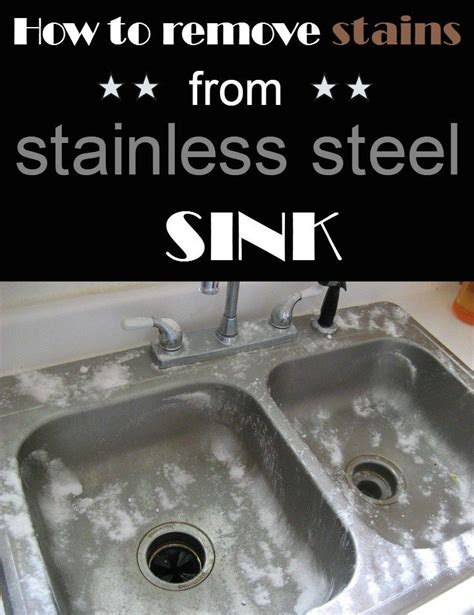 kitchen sink stains 17 best ideas about stainless steel cleaner on 2907