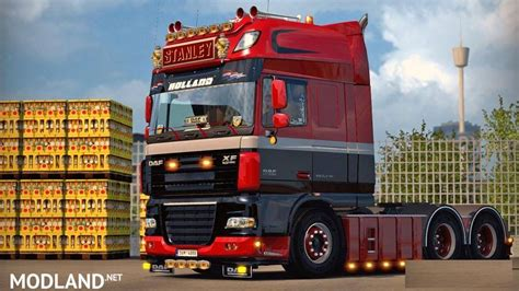 daf xf 105 by stanley v 1 6 fixed mod for ets 2