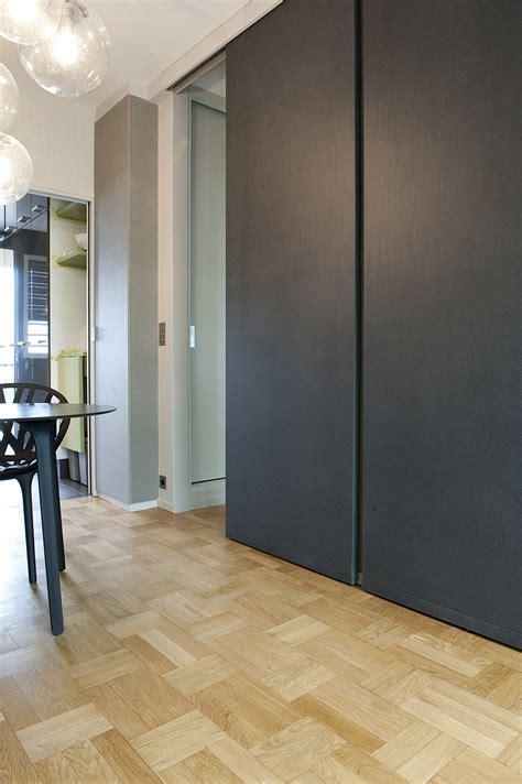 interieur cuisine portes coulissantes toute hauteur arlinea architecture