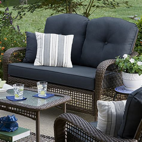 grand harbor prairie hill loveseat blue limited