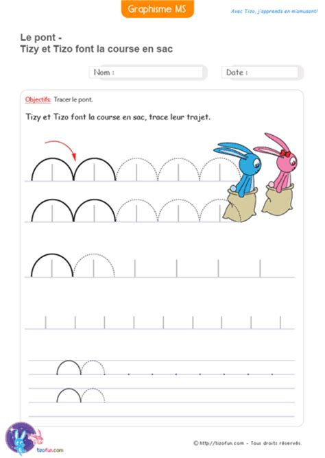 graphisme moyenne grande section fiches maternelle gs ms