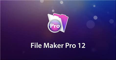Filemaker Pro 12 Beginner