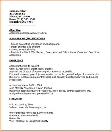 Best Resume To Get by 9 Best Resumes To Get The Budget Template Letter