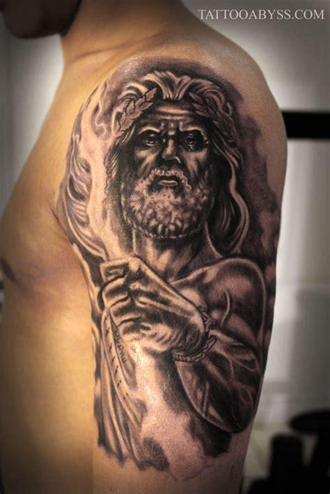 zeus sleeve tattoo abyss