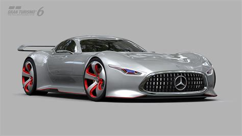 Revealing The Mercedes-benz Amg Vision Gran Turismo Racing