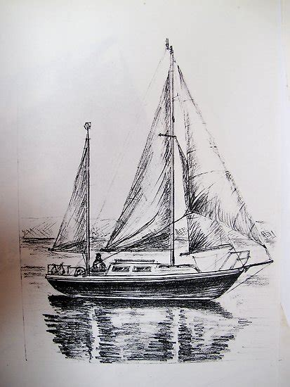 Boat Drawing By Pencil by Simple Boat Pencil Drawing Www Imgkid The Image