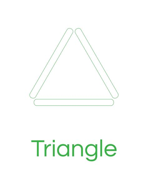 triangle template for kid craft popsicle stick triangle template 171 preschool and homeschool