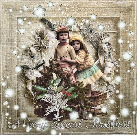 images vintage christmas vintage christmas mixed media by mo t