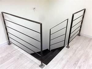 Garde Corp Escalier : garde corps inox et escalier design sur mesure en ~ Dallasstarsshop.com Idées de Décoration