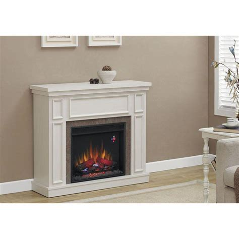 electric fireplace media console home decorators collection granville 43 in convertible