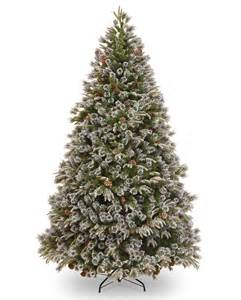 10ft liberty pine decorated feel real artificial christmas tree hayes garden world