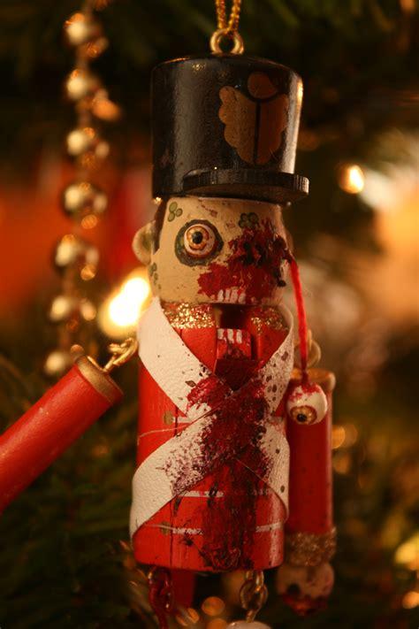 keith busher zombie christmas decor popcorn horror