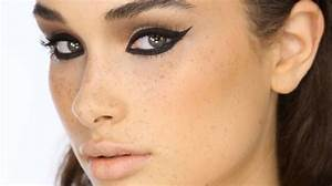 Dramatic Black 'Cat-Eye' Liner Makeup Tutorial - YouTube