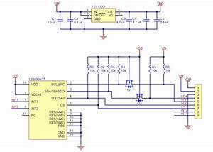 Lsm6ds33 3d Accelerometer And Gyro Carrier With Voltage