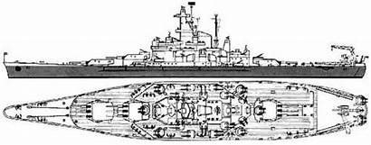 Blueprints Iowa Battleships Battleship Uss Ships Class