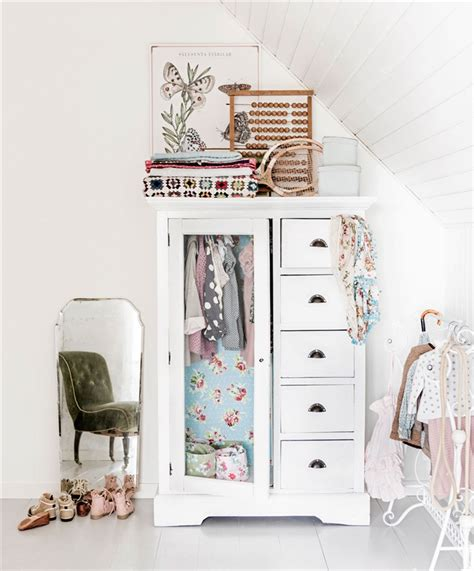A Vintage Girl's Room Full Of Creativity  Petit & Small
