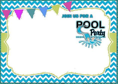 pool party invitation templates coolest invitation