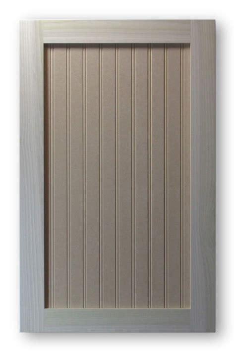 Pre Made Mdf Cabinet Doors by Shaker Beadboard Cabinet Door Poplar Frame Mdf Panel 1 5