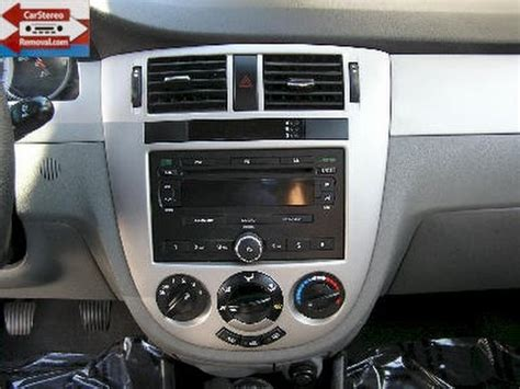 2004 Suzuki Forenza Radio Code by Suzuki Forenza Car Stereo Removal And Replacement