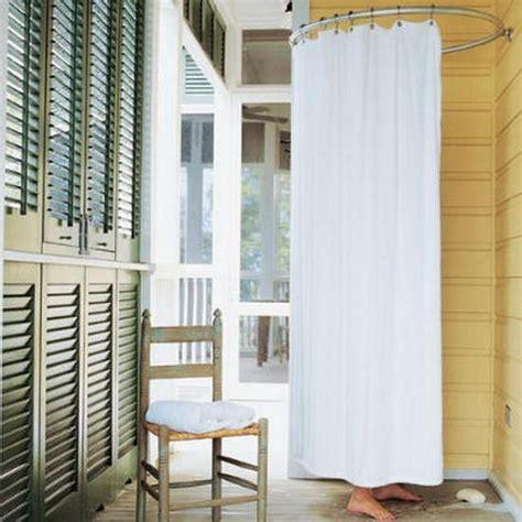 design ideas  wooden  metal outdoor shower enclosures