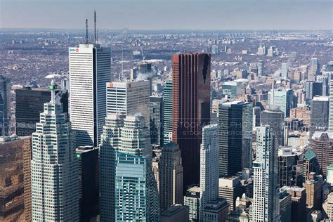 Aerial Photo | Toronto Financial District