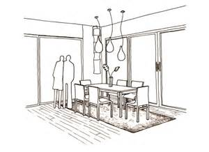 Warm Dining Room Colors by Perspective Drawings Of A Modern House Sophiequi