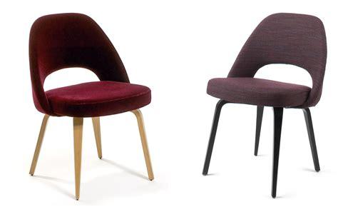 chaise saarinen saarinen executive side chair with wood legs hivemodern com