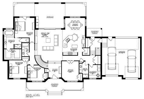house floor plans with basement featured house plan pbh 6336 professional builder house